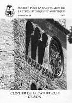 bull. no 18 - Clocher de la Cathédrale de Sion
