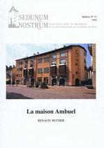 Bull. no 51 - La maison Ambuel