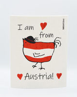 "Owoschfetzn ""I am from Austria"" rot"