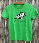 """Kinder T-Shirt """"Wait"""", Größe 134-146 (9-11 J)"""