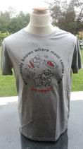 "T-Shirt ""go vegan!"""