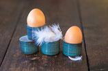 Eierbecher mit Rillen