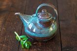 Teekanne mit seitlichem Einfüllstutzen (auch für Linkshänder)