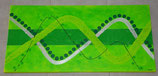 "Acrylbild ""Green Wave"""