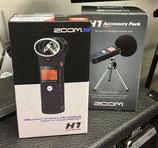 ZOOM H1 magnétophone numérique avec kit d'accessoires