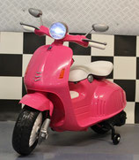 KINDER SCOOTER 12 VOLT ROZE