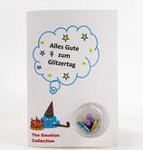 """Geburtstagskarte - """"Alles Gute zum Glitzertag"""""""