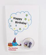 """Geburtstagskarte - """"Happy Birthday"""""""