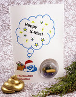 "Xmas card - ""Happy X-Mas"""