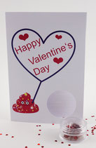 "Valentine Card - ""Happy Valentine's Day"""