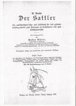 Der Sattler v. Wilhelm Rausch 1928