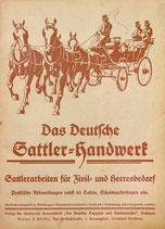 Das deutsche Sattlerhandwerk (im pdf-Format)