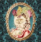 Kissenplatte - la comtesse - blau