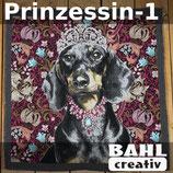 Motivplatte Prinzessin