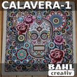 Motivplatte Calavera