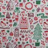 BW Weihnachtliche Vorfreude rot grün