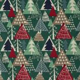 BW Weihnachtlicher Tannenwald
