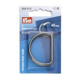 2x D-Ringe, 40mm Prym