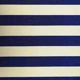 Markise Blockstreifen Blau