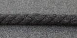 Gedrehte Kordel 10mm dunkel grau