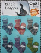 Black Dragon Sockenwolle von Opal