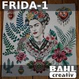 Motivplatte Frida