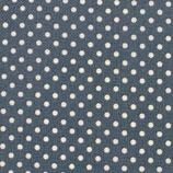 BW Muster Punkte weiß auf blau