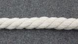 Gedrehte Kordel 10mm weiß