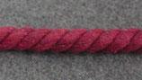 Gedrehte Kordel 10mm dunkel rot