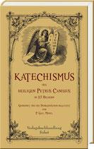 Canisius, Petrus: Katechismus des heiligen Petrus Canisius in 113 Bildern.