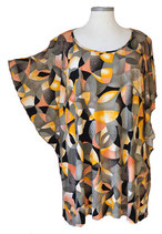 Summerfeeling Shirt New Designs Schwarz Grau-Grün Orange (SFS-678)