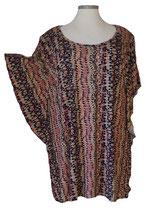 Summerfeeling Shirt New Designs Schwarz mit kleinem Retro-Muster (SFS-690)