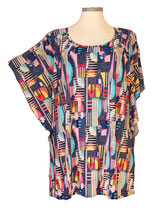 Summerfeeling Shirt New Designs Blau Weiß Bunt (SFS-637)