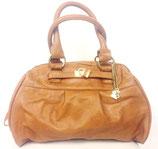 Damenhandtasche braun aus 100% PU Leder