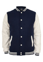 Oldschool College Jacket Jacke navy/white