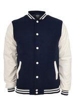 Oldschool College Jacket Jacke navy/white