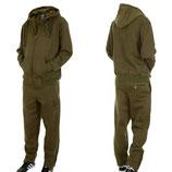 Hoodboyz Jogginganzug Suit Sportanzug Herren olive