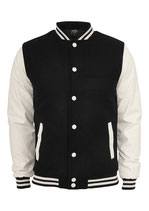 Oldschool College Jacket Jacke black/white