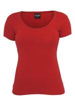 Urban Classics Basic T-Shirt rot