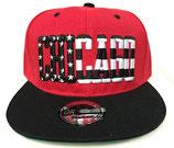 Snapback Cap Chicago rot-schwarz