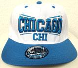 Snapback Cap Chicago blau-weiß