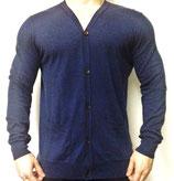 Boxfresh Strickjacke Pullover Sweater dunkelblau navy