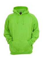 Urban Classics Hoody limegreen neongrün
