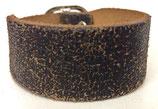 Lederarmband braun used Look Vintage