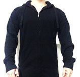 Marc Ecko Hoody Zipper Pullover Kapuze black basic