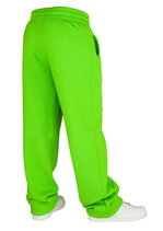 Urban Classics Jogginghose für Frauen limegreen neongrün