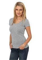 Urban Classics Basic T-Shirt grau