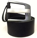 Gürtel aus Vollrindleder mit extrem starker Schnalle 5cm breit schwarz