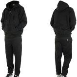 Hoodboyz Jogginganzug Suit Sportanzug Herren schwarz