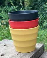 BioCelain® Kaffee-/ Tee- und Saftbecher / Deutschland-Edition (3er-Set)